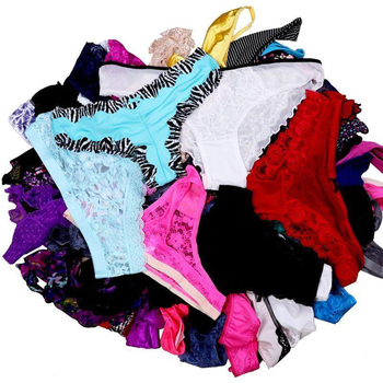 Mierside Random 10-30 Pieces/ Pack Any Different Style girls underwear panties sexy T-pants and Briefs XS/S/M/L/XL 6