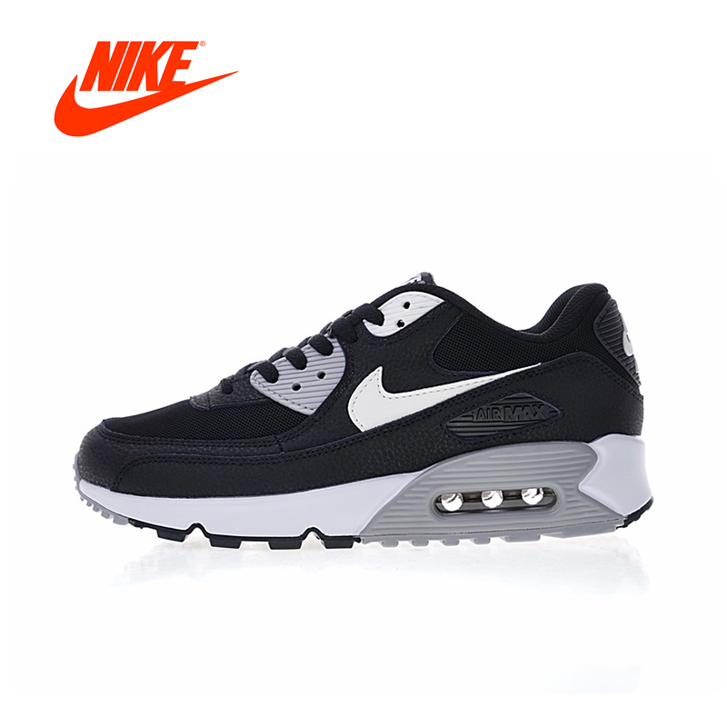 Original New Arrival Authentic Nike Air Max90 Essential Women's Comfortable Running Shoes Sport Sneakers Good Quality 616730-012 цена
