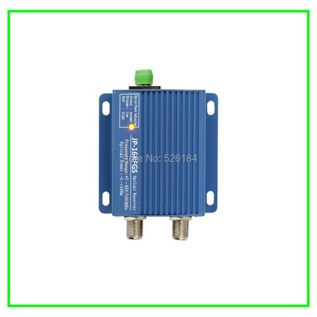 Salida de 2 puertos SC/APC de Interior mini CATV Receptor Óptico/nodo con filtro y la función AGC utiliza para GEPON red