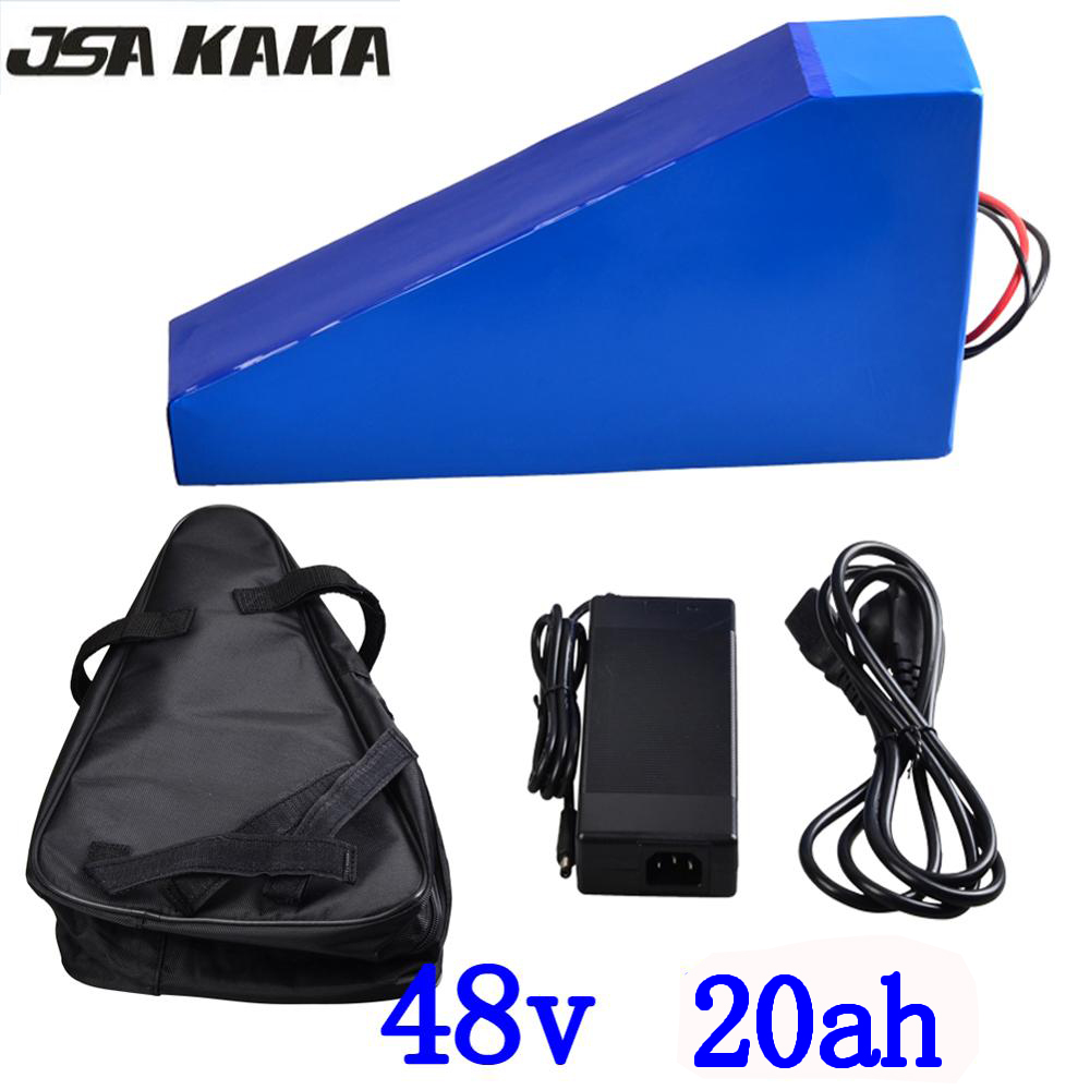 48V 1000W battery 48v 20ah electric bike battery 48V 20AH lithium ion battery pack with 30A BMS and 54.6V charger and free bag48V 1000W battery 48v 20ah electric bike battery 48V 20AH lithium ion battery pack with 30A BMS and 54.6V charger and free bag