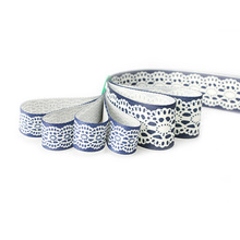 25mm/15mm Geometric Printed Grosgrain Ribbons Sewing Trim For DIY Hair Bows Wrapping Decoration Handcrafts Materials LX001