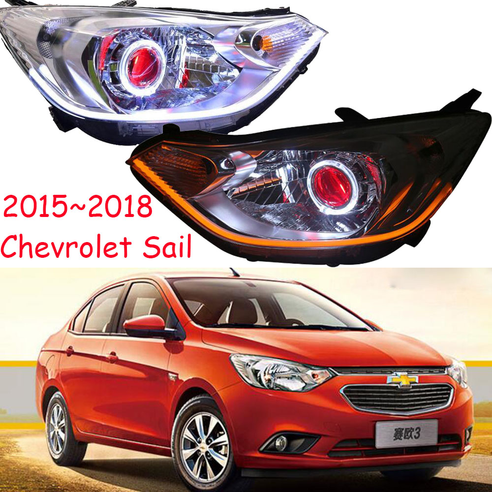 Pour CHEVROLET SAIL Angel Eyes voile phares lampe frontale 2010 2012 2013/2015 2016 2017 2018 année