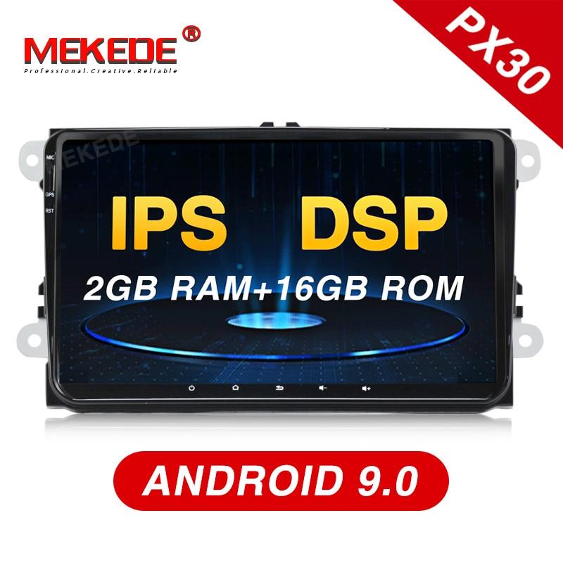 Mekede PX30 DSP + IPS アンドロイド 9.0 カーマルチメディアプレーヤーナビゲーション GPS DVD 用/ゴルフ/ティグアン/ シュコダ/ファビア//シート/レオン WIFI BT  グループ上の 自動車 &バイク からの 車用マルチメディアプレーヤー の中 1