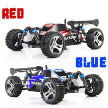 DHL Free Shipping 1PCS High Quality Wltoys A959 Rc Car 1/18 2.4Gh 4WD Off-Road Buggy Rc Car Remote Control Toys For Children