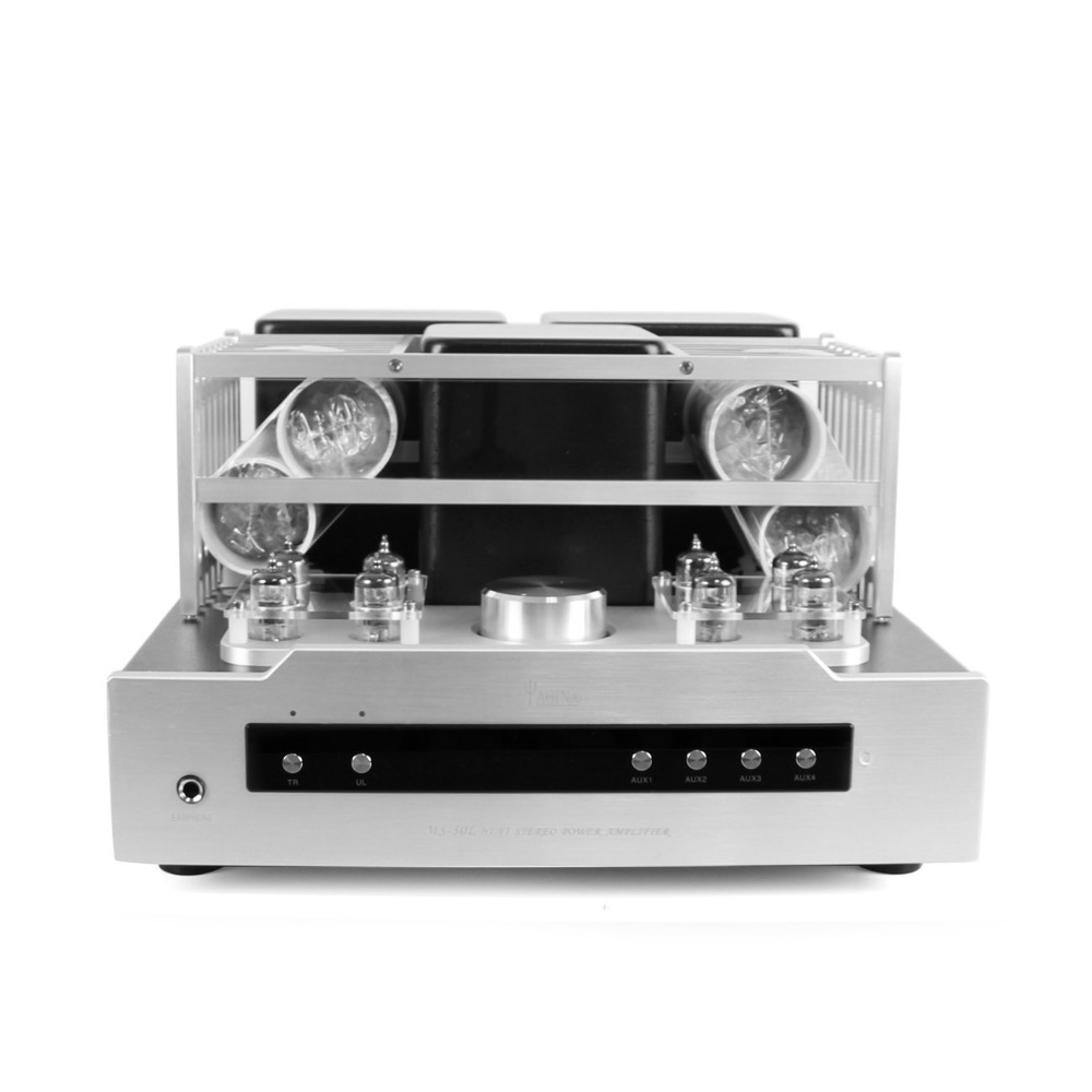 Yaqin Ms 30l El34 Integrated Push Pull Tube Amplifier Hifi Lamp Amp Power 35w With Headphone Output Remote Control In From Consumer Electronics On