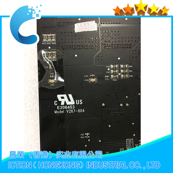 Original New 661-5980 LCD Backlight Board for Apple iMac 27 A1312 LED display Inverter Board V267-604 Mid 2011