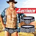 Высокое качество бренда AUSTINBEM сетки боксеры мужская мода нижнее белье мужчины сексуальная мягкая модальные брюки мужские гей белье