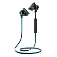 цена на Smart Noise Reduction Sport Bluetooth 4.1 Headphone With Mic For Iphone X 7P Xiaomi Stereo Earphone Calf Horn Bluetooth Headse