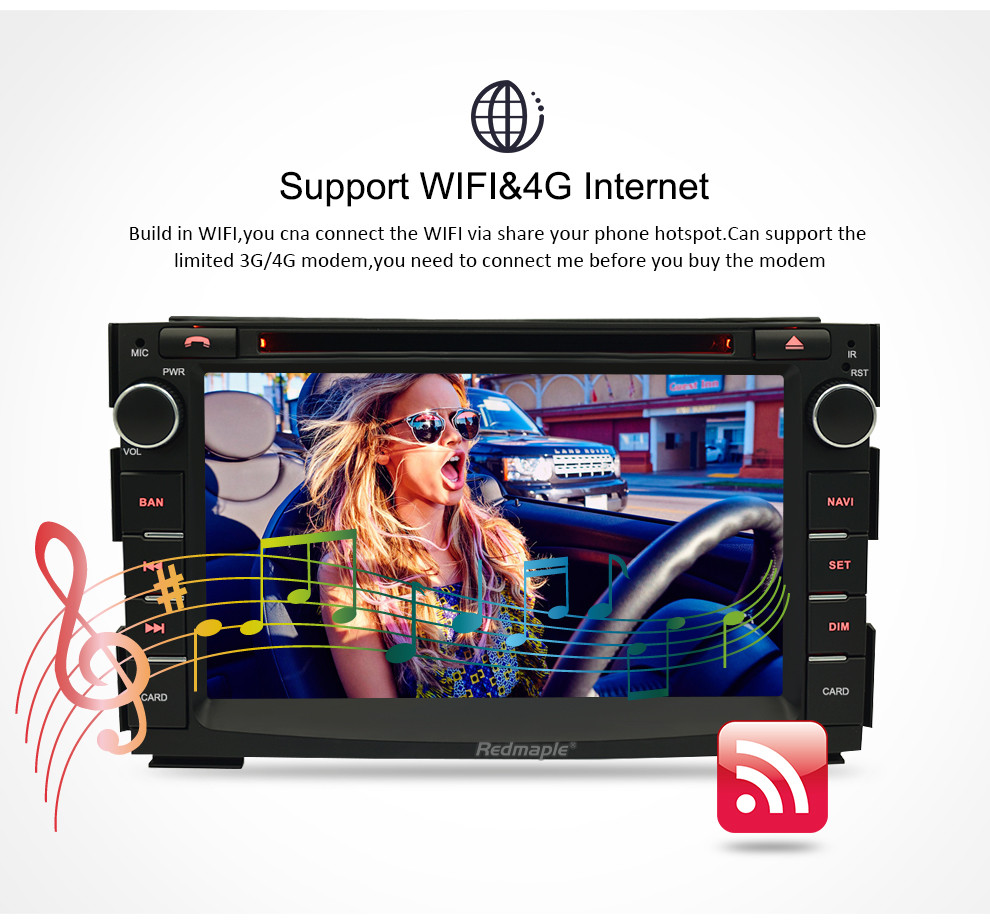 Image 3 - 8 Core Android 8.0 Car Multimedia Player For Kia Ceed 2010 2011 2012 Audio Stereo WiFi RDS DVD 2 Din Video Radio GPS Navigation-in Car Multimedia Player from Automobiles & Motorcycles