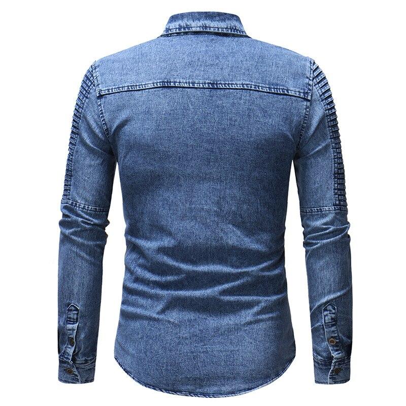 abf14eb2ba220d3 2019 весенние мужские высокого качества Военные случайные бренд 100% хлопок  армии Рубашки Осень-зима