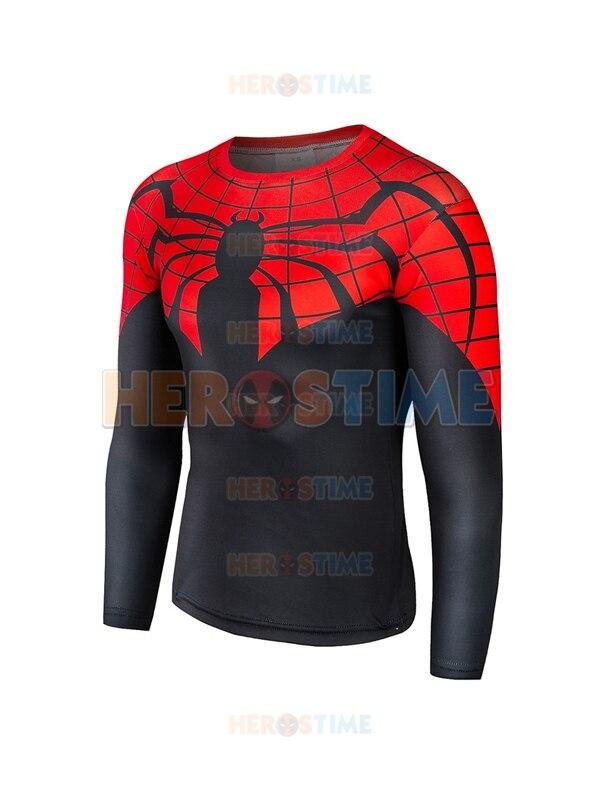 T-shirt à séchage rapide modèle 3D super-héros Spider-Man supérieur