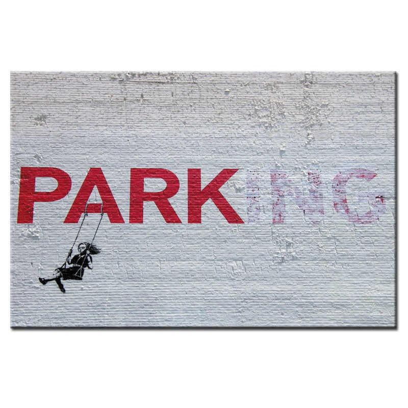 Мода 1 шт. граффити плакат серии холст стены искусства изображения для украшения дома 1 панели для гостиной оптом/абстрактные-96