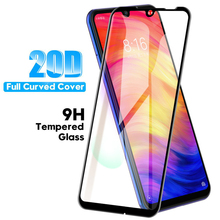 20D Curved Full Cover Screen Protector For Xiaomi Redmi K20 Pro Note 8 7 Tempered Glass Mi 9 SE Film