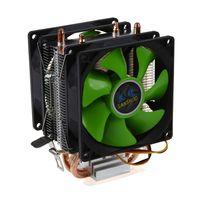 HOT CPU Cooler Silent Fan For Intel LGA775 1156 1155 AMD AM2 AM2 AM3