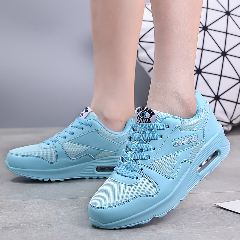 ZIMNIE New Woman Breathable Running Shoes Comfortable Outdoor Sports Jogging Walking Female Sneakers Unisex Air Cushion Shoes