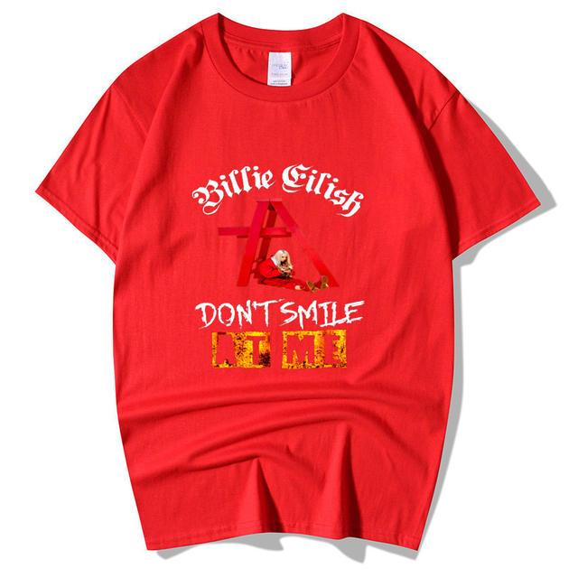 BILLIE EILISH DON'T SMILE AT ME T-SHIRT (9 VARIAN)