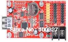 BX-5UT 30 sztuk partia pojedynczy i podwójny kolor interfejsu USB karta kontrolna wyświetlacza led kontroler tanie tanio LLDBX-5UT Single color 16K 1024*16 512*32 Double color 8K 512*16 256*32 Normal global real-time shared self-adapted program
