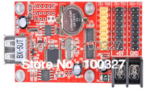 BX-5UT 30pcs/lot Single And Dual Color USB Interface Led Display Control Card/controller