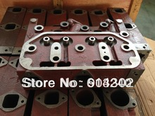 295C Cylinder head - weifang 295D 295C series diesel engine parts /marine engine parts /weifang marine generator parts ef6600 mz360 cylinder head gasoline generator parts replacement