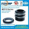 MG13 28 Burgmann Mechanical Seals MG13 Series For Shaft Size 28mm Pumps 28x49x50mm Rubber Bellow Seals