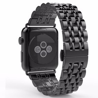 2017 New Style Stainless Steel Space Gray Smart Watch Band For Apple Watch Band 38mm 42mm