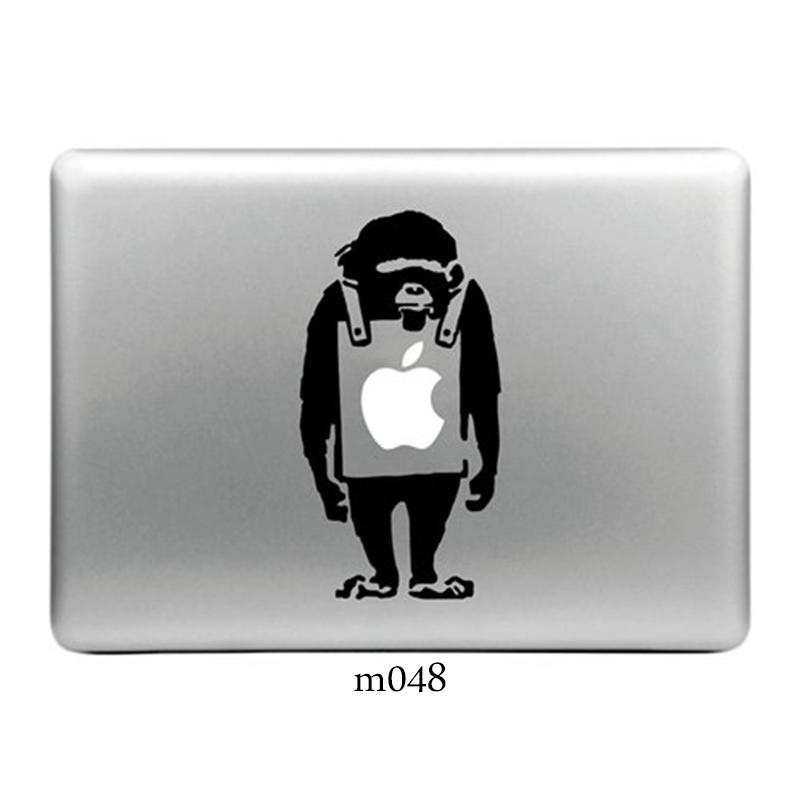 Image 2 - Vinyl Decal Laptop Sticker for Apple Macbook Pro/Air 13 inch Vintage Laptop Case Mac Cover Skin Stickers For Mac Air 11 13 15-in Laptop Skins from Computer & Office
