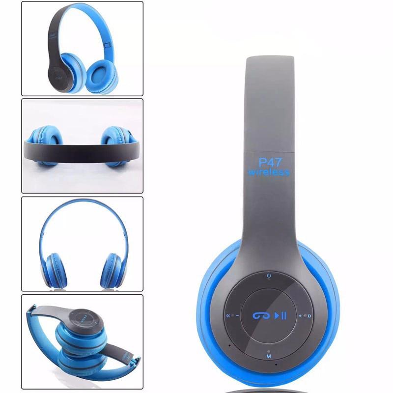UYG P47 Bluetooth auriculares auriculares inalámbricos Bluetooth 4.1 headset mús
