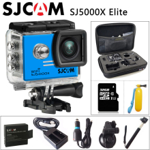 SJCAM SJ5000X Elite WiFi 4K 24fps 2K30fps Gyro Sports DV Action Camera+Extra 1pcs battery+Charger+Car Charger+Holder+Monopod