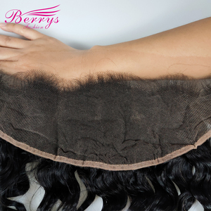 Image 4 - New Arrivals HD Lace Frontal Loose Wave 13*4 HD Lace Frontal With Baby Hair 100% Human Hair Bleached Knots 10 20inch