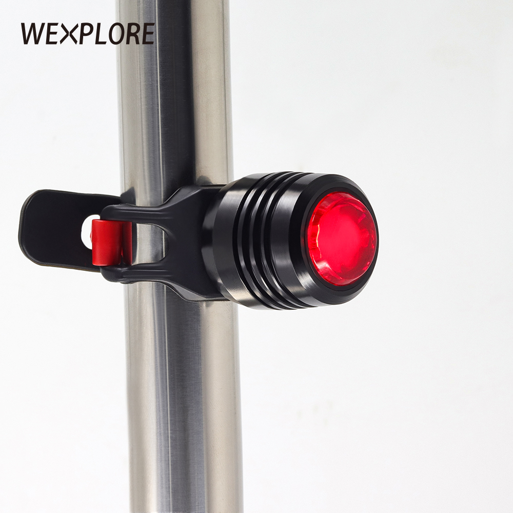 Bicycle Rear Light Usb Rechargeable Bike Tail Light For Bike Led Safety Light Heavy Rain Waterproof Led Light Rear Light