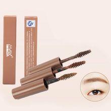 Women Makeup Lasting Durable Waterproof Eyebrow Cream Beauty Cosmetics Eyebrow Gel Enhancer Mascara Brush xgrj