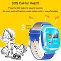 Femperna q80 novo smart watch relógio bebê dispositivo de localização rastreador para criança Seguro Anti-Perdido Do Monitor SOS Chamada com o cartão SIM PK Q50 Q60