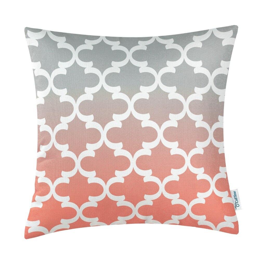 Kvadrat CaliTime Yastığı Örtük Yastıqları Shell Ev Divan - Ev tekstil - Fotoqrafiya 6