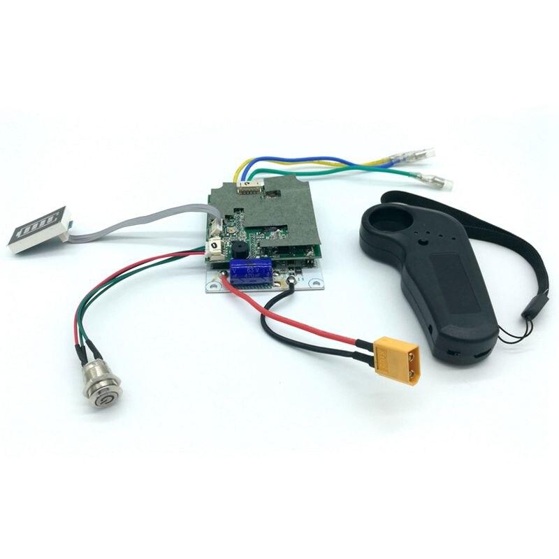 Contrôleur de planche à roulettes électrique planche à roulettes conseil de pilote à entraînement unique moyeu de détection externe panneau moteur 36V contrôleur de planche à roulettes - 4