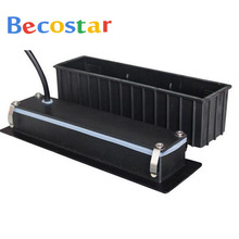 BECOSTAR aluminum Sexy Doll outdoor waterproof stair corner LED wall lights LED step Lamp  with a box 2w warm white 3000k