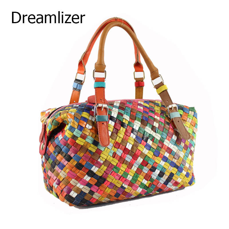 ФОТО Dreamlizer High Quality Women Handbag Female Genuine Leather Bags Brand Women Totes Bag Casual Party Day Bags