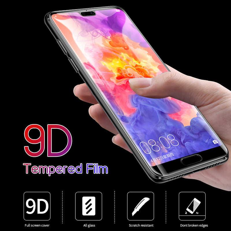 9D Tam tutkal koruyucu Cam honor 20 pro 10 ışık 9 lite 10i 20i 9x ekran koruyucu Için huawei honor 8s 8c 8x temperli cam güvenlik Filmi