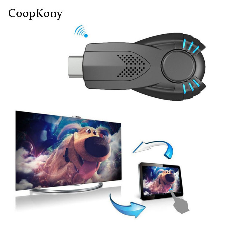 CoopKony wifi Smart Ezcast Miracast Dongle DLNA Airplay miroir OP Audio vidéo récepteur pour IOS Android OS Windows iphone onex P10