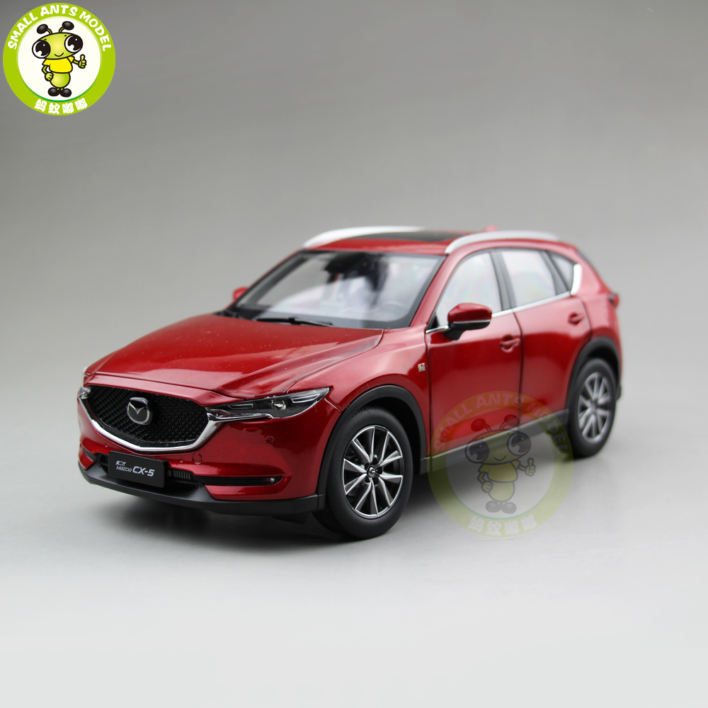 1/18 All New Mazda CX-5 CX 5 2018 SUV Diecast Car SUV Car Model Toys For Kids Boy Girl Gift Collection Red
