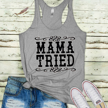 Tops Rodeo Top Drinking Print Harajuku Woman Clothes Mama Tried Women Tank Country Girl Tanks Music