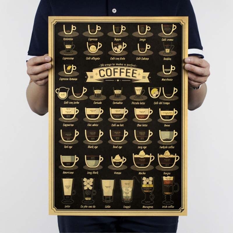 Фильм ретро постер винтажный аниме автомобиль плакаты и принты кофе кухня гостиная декоративная живопись крафт-бумага наклейки на стену - Цвет: 01