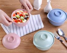 1PC Korean Styles restaurant kaiteen bar tableware miso soup bowl with lid cup melamine plastic LF 132