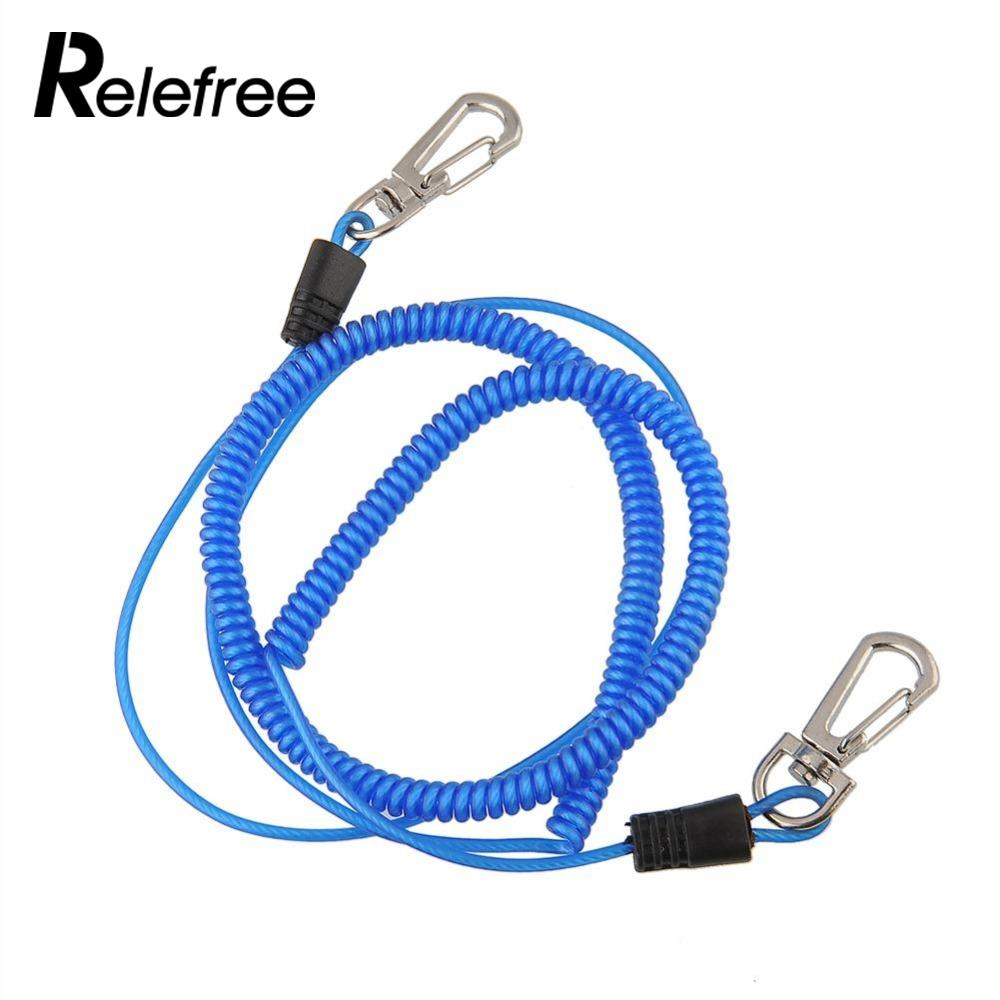 Relefree 3m Braid Safety Safe Boat Fishing Lanyard Cable Heavy Duty Rope Release Colorful Multicolor