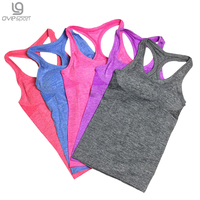 Modal Built In Bra Padded Self Mold Bra Tank Tops Crop Top Camisole Vest Free Shipping