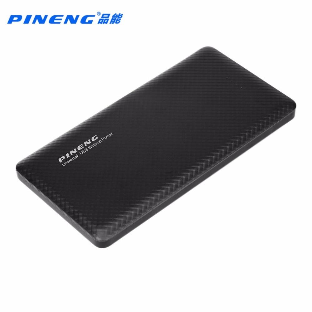 PINENG 100% Original PN-958 10000 MAH USB Dual Del Banco Móvil Cargador de Bater