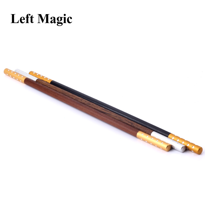 1 Pcs Wooden Magic Wand Cane Stage Magic Tricks For Professional Magicians Steet Close Up Magic Props Accessories G8033