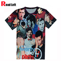 Новый Harajuku Футболки 21 Пилотов Двадцать Один Пилотов Печати 3D Майка 2016 Мужчины/Женщины Лето Тис Мужская О-Образным Вырезом уличная Camiseta