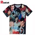 Nova Harajuku Camisetas 21 Pilotos Vinte E Um dos Pilotos de Impressão 3D T Shirt 2016 Dos Homens/Mulheres Verão Tees Unisex O-pescoço Streetwear Camiseta
