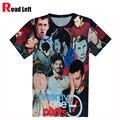 Nueva Harajuku Camisetas 21 Pilotos Veintiún Pilotos de Impresión 3D Camiseta 2016 de Los Hombres/Mujeres Del Verano Camisetas Unisex O-cuello Streetwear Camiseta