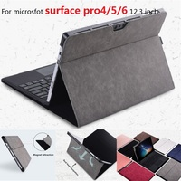 For tablets stand holder for Microsoft surface pro 4 /pro 5 Laptop sleeve for Surface new pro 5 laptop fold holder pro 12.3 inch